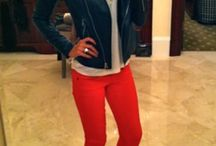 Fashion: Red pants outfits / My fav color
