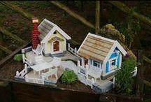 Miniaturgarten - Fairygarden - Fairy House / Minigärten, der Garten im Garten.