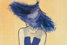 Fashion illustration / Fashion illustrations and sketches from the 1940's, 1950's and the 1960's and lots of René Gruau