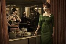On screen / Lots of Mad Men, but also Anna Karenina, The Hour and other period dramas.