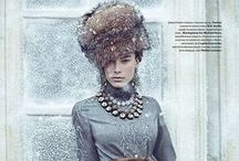 Russian Inspiration / From Russia with love - and lots of Ulyana Sergeenko