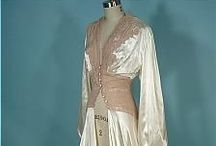 Lingerie / Lovely lingerie; often vintage but sometimes present, but always in glamour and style.