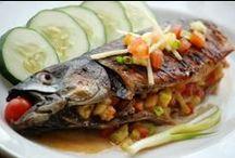 recepty - ryby, sýr... / jídlo a pití