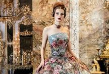 Evening gowns / Couture and high fashion with lots of drama