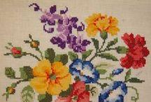 Kreuzstich Blumen - Cross Stitch Flowers