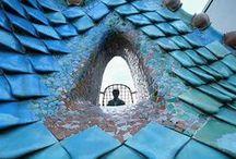 Gaudí / Inspirado por la naturaleza que le cautivó y asombró siempre. Admiro su ingenio y creatividad.