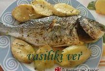 ΦΑΓΗΤΑ ΜΕ ΨΑΡΙΑ (FOOD WITH FISH)