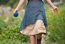 Ropa para mamás / Delantales, faldas, vestidos estilo vintage campestre.