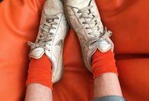 → happy fashion / orange clothing is underrated.