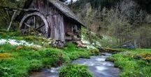 Alte Wassermühlen