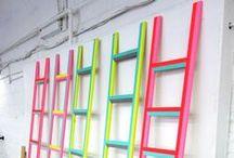 Neon - Fluor / Los colores neón, flúor, los colores ácidos, son tendencia en moda y decoración esta primavera- verano 2013 • Neon, fluor, acid colours are trendy this 2013 spring-summer