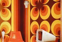 1970's Wallpaper/Textile Design / 1970's Wallpaper/Textile Design