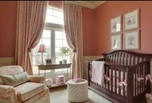 Pink Nursery Design Ideas / Hoping to design a nursery that's fit for a princess? You can't go wrong with pink! Pink color is always in style for little girls / by Personalized Baby Gifts, Baby Blankets & Nursery Bedding