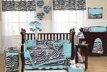 Animal Print Nursery Design Ideas / Add the sweetest touch to your little one's nursery with ta fashion forward animal print. / by Personalized Baby Gifts, Baby Blankets & Nursery Bedding