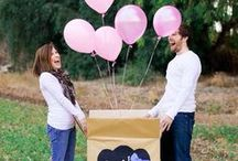 Gender Reveal Ideas  / Gender Reveal Ideas for a new baby  / by Personalized Baby Gifts, Baby Blankets & Nursery Bedding