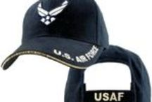 US Air Force Hats & Caps / Air Force hats that we offer at 100% Satisfaction Guaranteed.  A great selection of choices for UASF hats and caps at http://www.priorservice.com/usairforcecaps.html / by PriorService.com