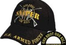 New Ball Caps  / This year has a great selection of new Military Baseball Caps and Hats.  Choices go from Humorous to Army, Navy, Air Force, USMC, Veterans and Retired.  See an even LARGER selection at www.priorservice.com / by PriorService.com