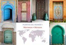 Entrance doors in the world / Puertas de acceso de todo el mundo • Inspiring entrance doors all around the world
