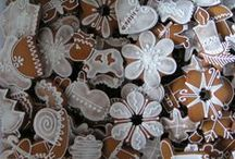 Honey Cookie - Gingerbread / Medovnik - traditional honey cookies from Slovakia. These are mine. Enjoy them! :)