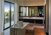 Bathroom / Bathrooms: Traditional, eclectic, modern, transitional and contemporary