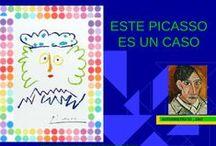 """ACTIVIDADE: """"Picasso"""" / Actividades para ampliar as relativas a Picasso do Caderno para o Museo Expandido Jaime Quessada"""