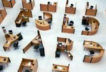 Espacios de trabajo / Lugares cómodos, divertidos para trabajar dentro o fuera del hogar. El diseño y la creatividad al servicio de los espacios de trabajo.