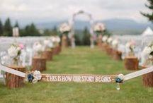—handmade signs— / by Daria's Wedding