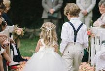 •flower girls and ring bearers• / Rylee, Emmalee, and Dawson / by Daria's Wedding