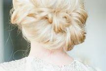 WEDDING HAIR / Lovely wedding hair styles.