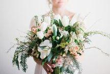 WEDDING FLORALS / Flower arrangements for weddings.
