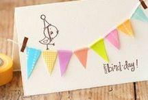 Ideas Tarjetas de Cumpleaños