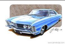 US Car Drawings
