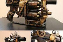Ray-Guns - Steampunk-Weapons
