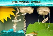 Bean School - WEATHER / all ideas relating to weather and the water cycle - rainbows, hurricanes, etc. / by Kat Woodfill Childress