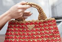 borse crochet-tricot-macramè