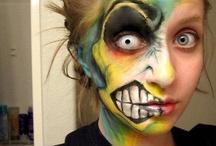 Costumes with Contacts / Halloween, Manga, Cosplay, Anime, Kostüme & Verkleidungen mit #Kontaktlinsen für Karneval, Fasching und Fastnacht // Awesome Halloween Make Up Ideas with Contact Lenses