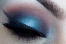 Make-up für Kontaktlinsen / Make-up Inspirationen für jede Augenfarbe - so kannst du deine Augen noch besser betonen. Ideal mit #Kontaktlinsen!
