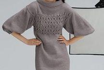 crochet tricot - gonne abiti
