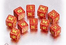 Battle dice / Our battle dice guarantee good luck in a battle - whatever side you are on!