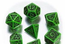 Celtic 3D dice / To commemorate the wisdom of the Celts and the beauty of their ornaments we made these beautiful 3D dice. They roll with a lot of grace!