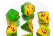 Classic RPG dice / Classic dice with Elven numbers - beautiful and simple.