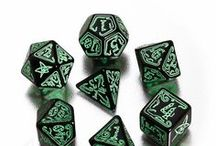 Call of Cthulhu RPG dice / Cthulhu is here! Roll these dice or you will fall into its... ... tentacles?