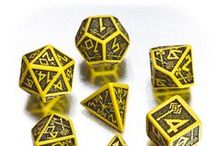 Dwarven RPG dice / There is no better way to learn the history of this mighty race, than reading and learning from these beautifully engraved dice. Get it and see for yourself. Readable as never before!