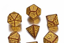 Steampunk RPG dice / Our bestselling Steampunk dice are perfect for each player enjoying this theme. And they are simply beautiful as well!