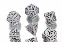 Tribal RPG dice / Tribal dice, designed by Anne Stokes. They are really beautiful!