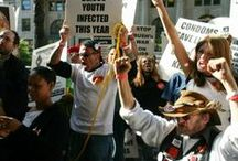 HIV/AIDS activism n' advocacy / photos from me HIV/AIDS advocacy n' activism efforts... / by Bob Bowers