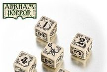Arkham Horror official dice / Official dice sets created with Fantasy Flight Games for Call of Cthulhu and Arkham Horror! You must try it :)
