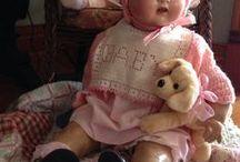 poupées et poupons anciens