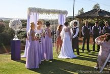 CEREMONY - flowers and hire setups / Wedding ceremony floral designs, hire setups and arrangements by Flowers in Love