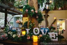 RECEPTION - Flowers and hire setups / Centrepiece